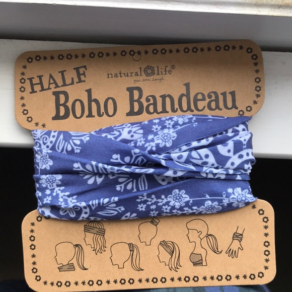 NATURAL LIFE Accessories - New Natural Life Half Boho Bandeau